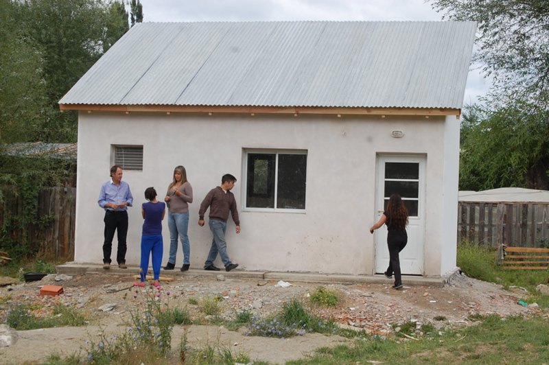 Szudruk recorrió obras del Plan Mejor Vivir que benefician a seis ...