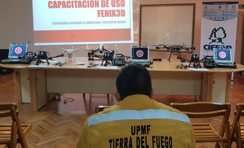 El CIEFAP dictó capacitación de pilotos de VANT y uso de cámaras ...