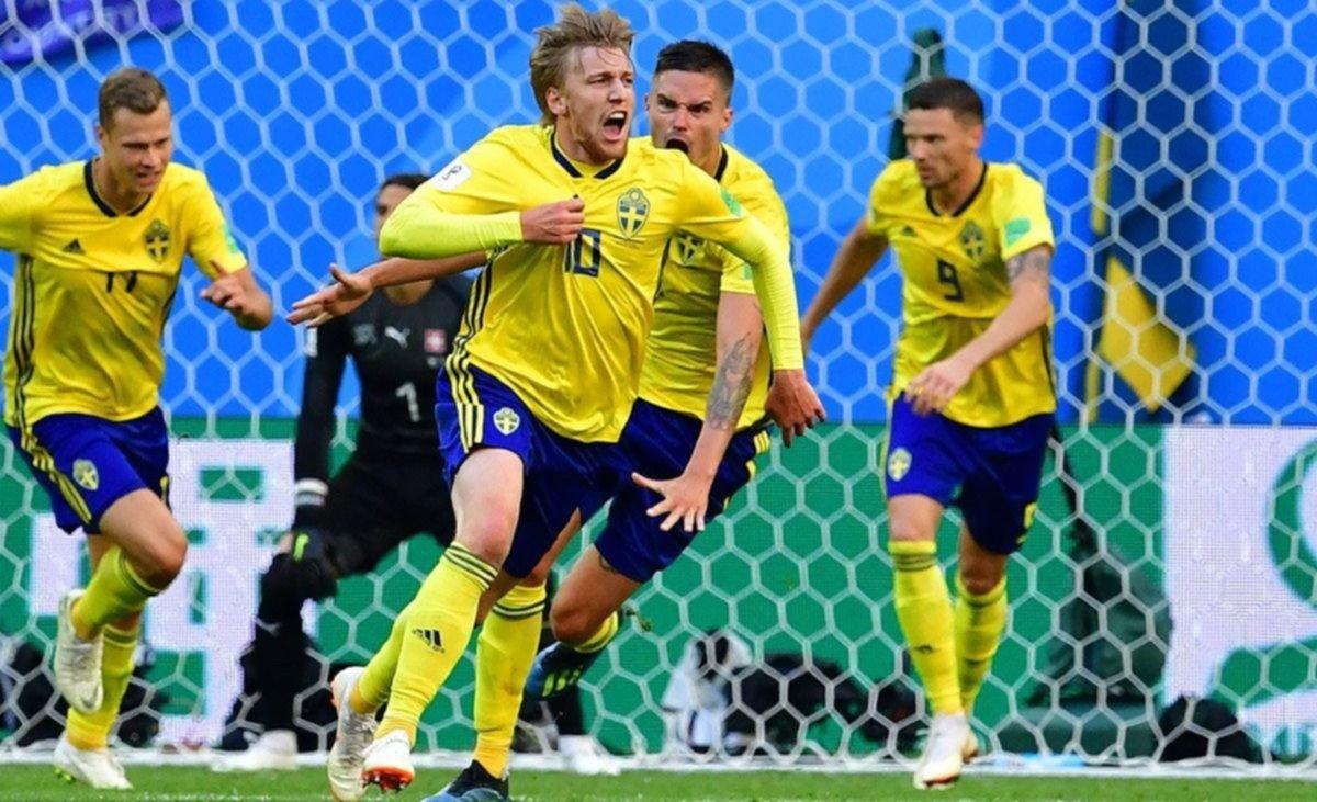 Resultado de imagen para suecia gano a suiza