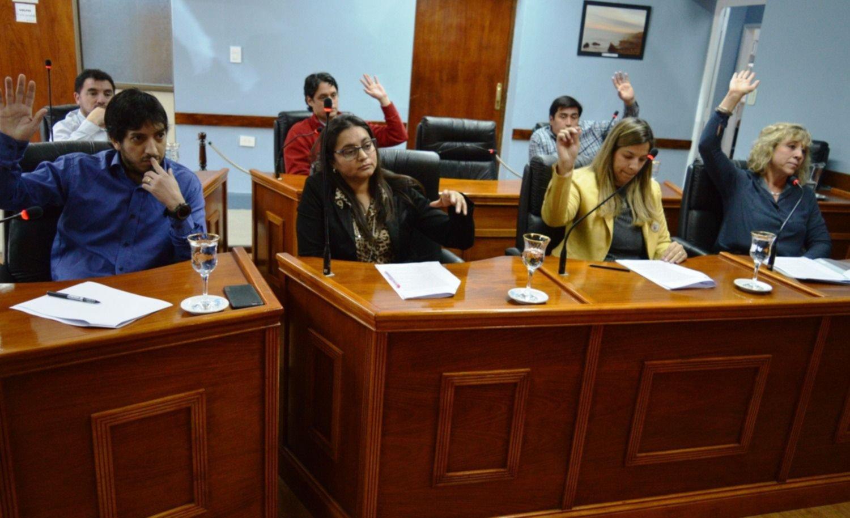 El Concejo Deliberante aprobó por unanimidad la sesión de 28 lotes