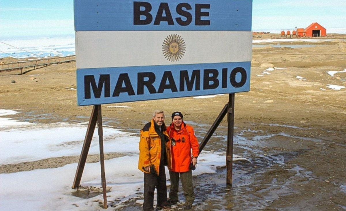 Resultado de imagen para Frigerio en Marambio