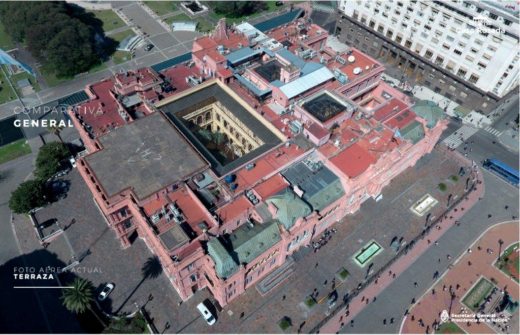 El Gobierno Destinará 285 Millones Para Reformar La Casa Rosada