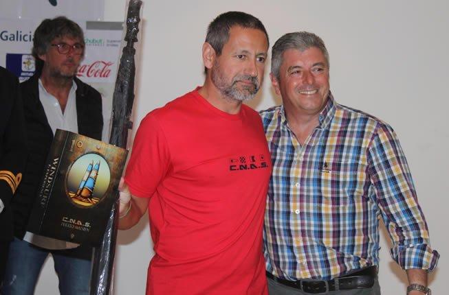 Pablo Wölker, campeón argentino de la Moth Class en la Copa Ballenas