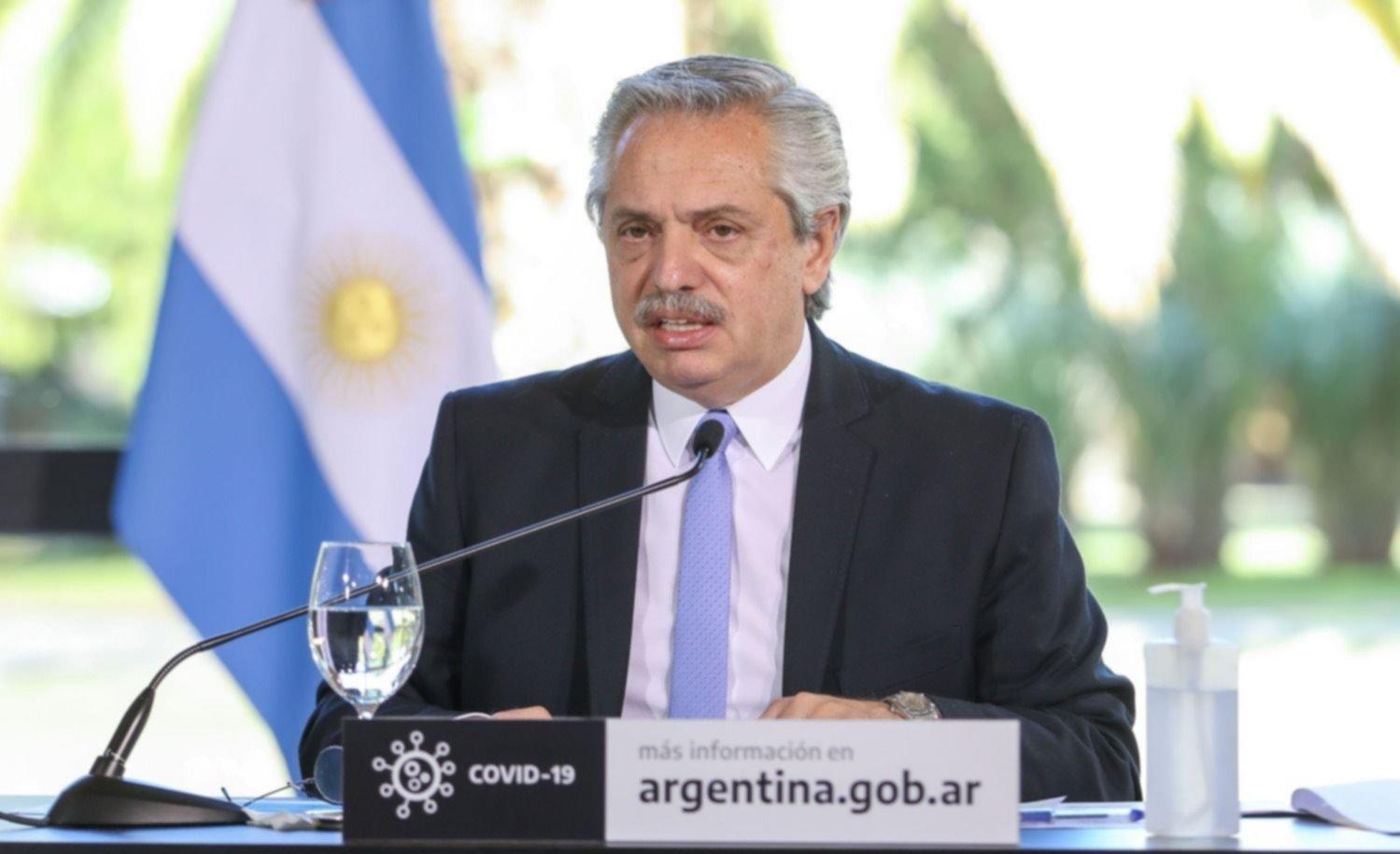 """Fernández resaltó que """"no se postergará a ningún argentino para ..."""