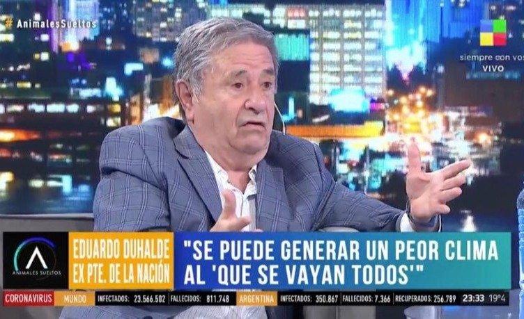 Duhalde dijo que el año que viene no habrá elecciones y generó el ...