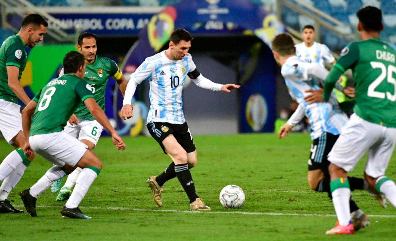 Argentina enfrenta a Bolivia por las Eliminatorias Sudamericanas